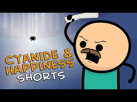 Spider Friend - Cyanide & Happiness Shorts
