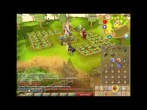 Runescape Farming Guide – Special Patches [HD]