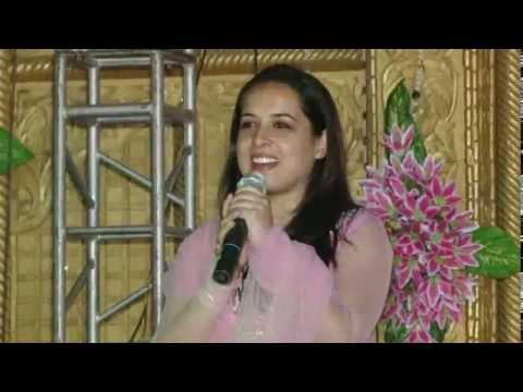 Garima Live on Stage- Gali me aaj Chand nikla