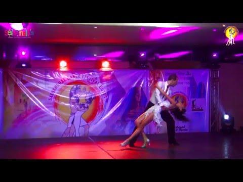 Jibi Ossama & Amgad Emam Rumba Dance Performance | 1.EIDC