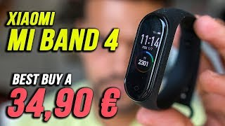 XIAOMI MI BAND 4 : Lo best SMARTWATCH? ( 34,90€ ) - Review