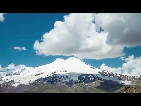 Mount Elbrus timelapse