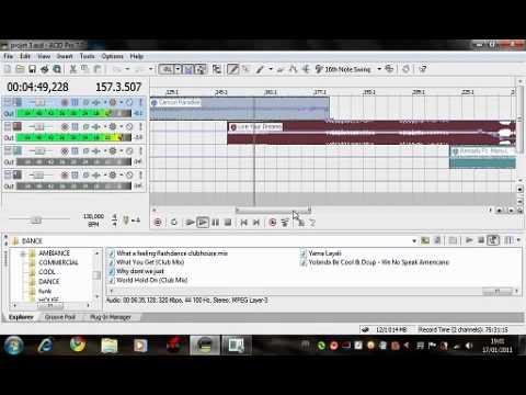 Mix n°3 sur ACID PRO 7