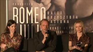 Konferencja prasowa - Romeo i Julia - 27/02/2014
