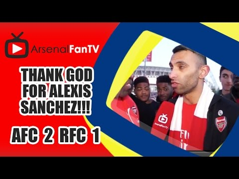 Thank God For Alexis Sanchez!!! | FA Cup Semi Final - Arsenal 2 Reading 1