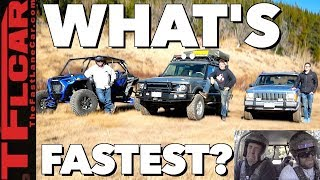 Old vs New: Can an Old $3K Jeep Beat a New $30K Polaris RZR In an Off-Road Race?