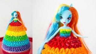 'Rainbow Dash' My Lie Pony Doll Cake - CAKE STYLE