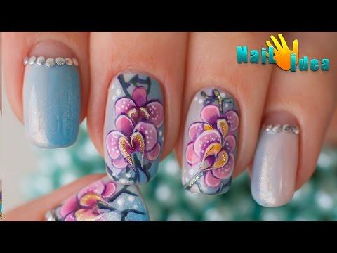 Видео уроки дизайна ногтей китайская роспись