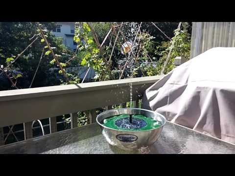GBGS Solar Lotus Leaf Water Pump Fountain Review