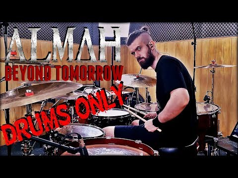 ALMAH - BEYOND TOMORROW | DRUM COVER | PEDRO TINELLO (DRUMS ONLY)