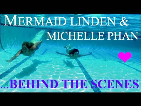 Mermaid Linden & Michelle Phan Underwater Behind the Scenes MakeUp Shoot