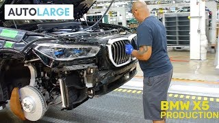 2019 BMW X5 Production