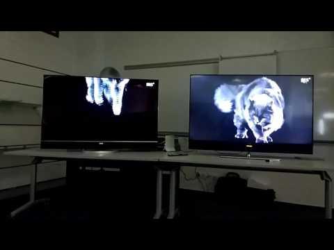 OLED против LED. Телевизоры Metz разница на примере