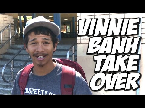 VINNIE BANH TAKES OVER MY CHANNEL !!! - A DAY WITH NKA