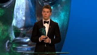 Will Poulter wins the EE Rising Star Bafta Award - The British Academy Film Awards 2014 - BBC One