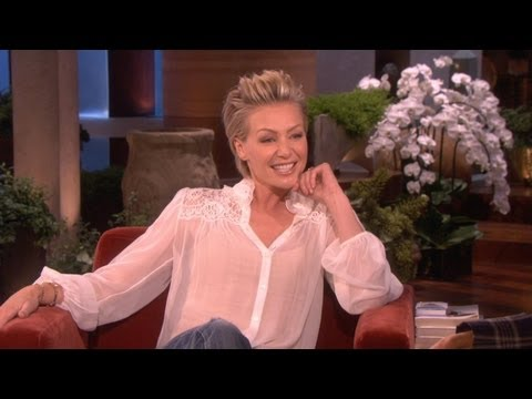 Jennifer Aniston Finds Out About Ellen and Portia's Marriage | ellen degeneres