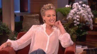 Jennifer Aniston Finds Out About Ellen and Portia