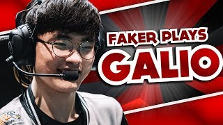WHEN FAKER PLAYS GALIO 5 TIMES IN ROW   WORLDS FUN/FAIL MOMENTS - LEAGUE OF LEGENDS
