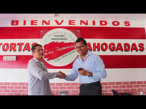 Tortas Ahogadas Las Famosas Guadalajara, Jalisco ( 1/2 )