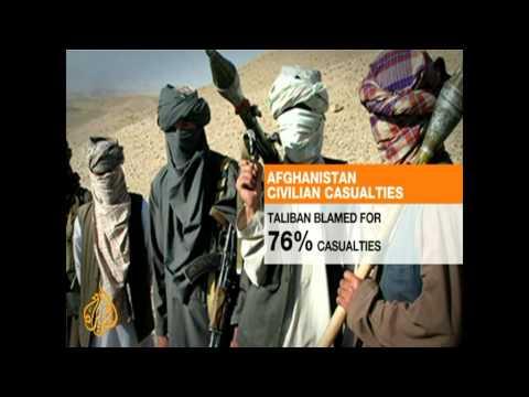 Afghan 'human cost' soars