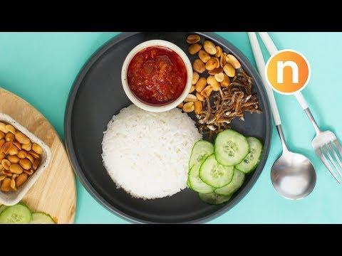 Nasi Lemak  | 椰浆饭 | Steamed Coconut Milk Rice [Nyonya Cooking]