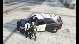 GTA 5 Roleplay #2 - Công việc của cảnh sát trong thành phố   ND Gaming