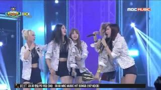 EXID Funny Clip #91- Junghwa Attempts Solji's High Note