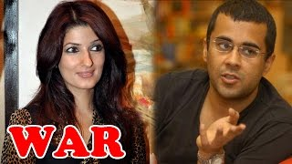 Twinkle Khanna & Chetan Bhagat Exchange INSULTS on Twitter | Bollywood News