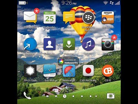 Blackberry OS 10.3 on Blackberry Q10
