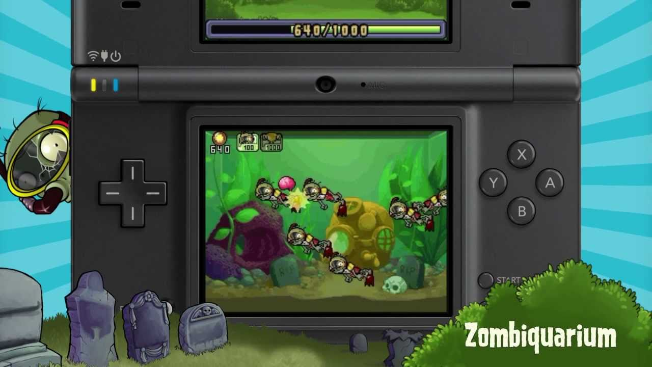 Plants vs. Zombies DSiWare Game Trailer - YouTube