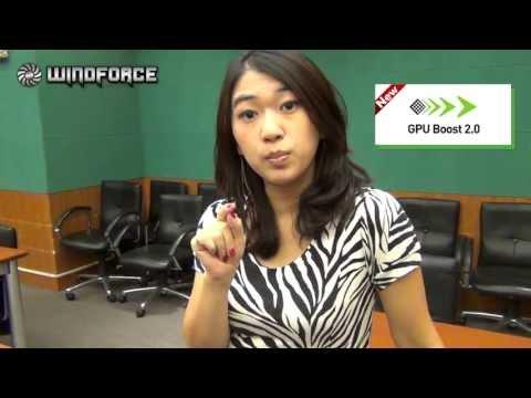 Gigabyte - Windforce 3x 450 watt Out Heat Dissipation Ability video