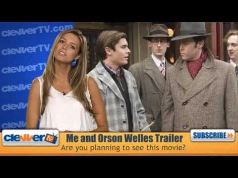 Zac Efron Me And Orson Welles Preview Video