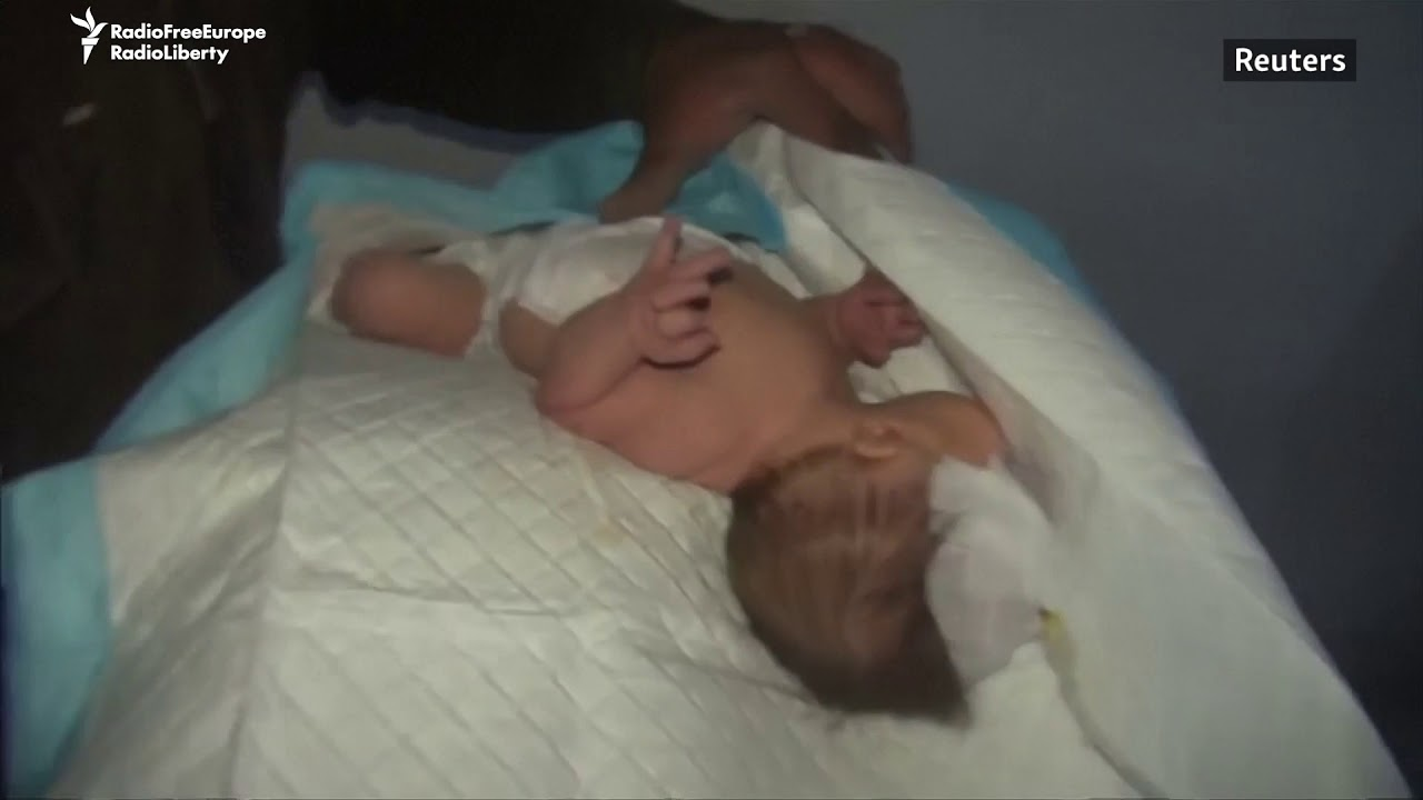 Babies Evacuated From Syrian Hospital After Air Strikes