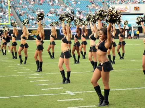 Jacksonville Jaguars Cheerleaders Tribute