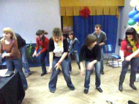 Aiesec Dance - Faci Łódź - Marco 2009 -chale Jaise Hawaien video
