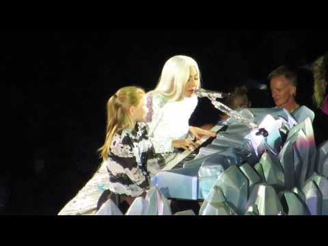 Lady Gaga - Gypsy, live in Denmark 27.09.2014 artRAVE