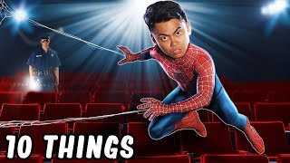 10 Things Not To Do In The Movies Theater Part 2 (Spider-Man)