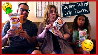 Tasting Weird Chip Flavors! 2018