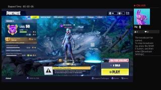 Fortnite  (Live stream )