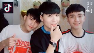 TikTok VN - điệu nhảy phủi vai của dàn trai xinh, gái đẹp Việt Nam