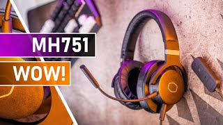 Cooler Master MH751 / MH752 Review - Gaming Headset Of The Year?