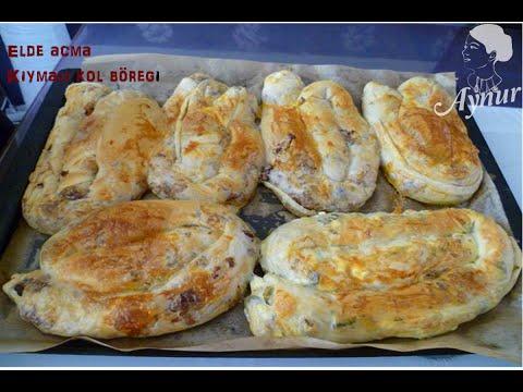 El Açması kiymali Kol Böreği tarifi -El Açması kiymali Kol Böreği Nasıl Yapılır?
