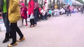 [Giày trượt bánh xe] Các cao thủ nhí biểu diễn tại Ecopark