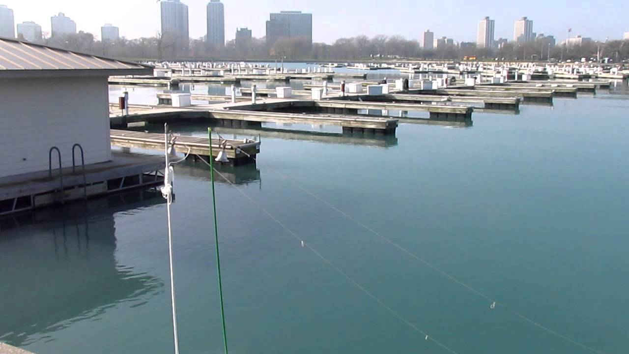 Perch fishing at montrose harbor in chicago lake michigan for Fishing in chicago
