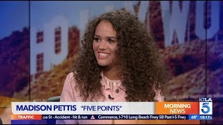 "Madison Pettis on How She Plays a Mean Girl in ""Five Points"""