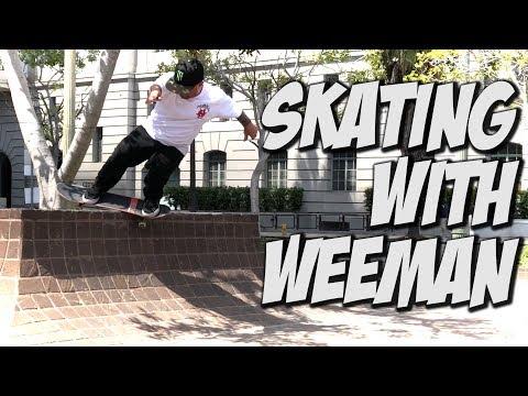 WEEMAN AND THE NULLITY TEAM SKATE DAYS !!! - NKA VIDS -