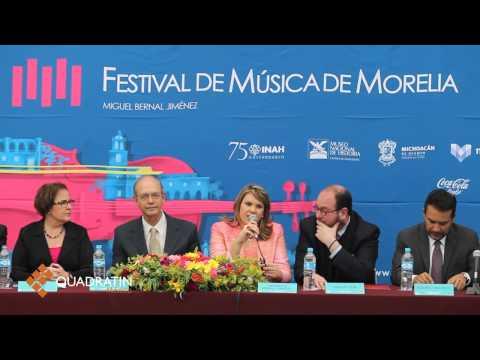 Festival de Música de Morelia dejaría derrama de 60 mdp