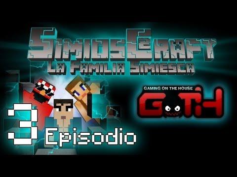 SimiosCraft 2 Ep. 3 Simiolandia Minecraft en Español GOTH