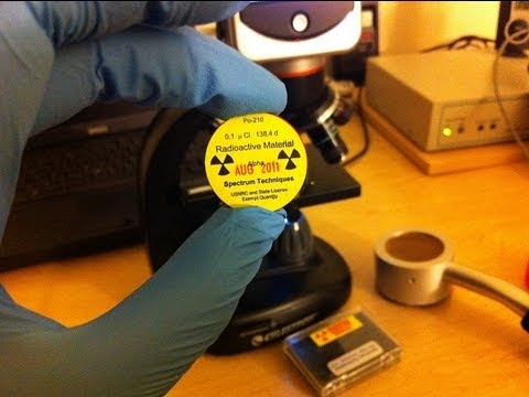 A Demonstration of Nuclear Radiation