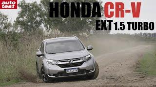 Prueba: Honda CRV EXT